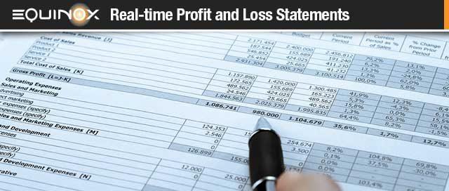 Profit and Loss Main
