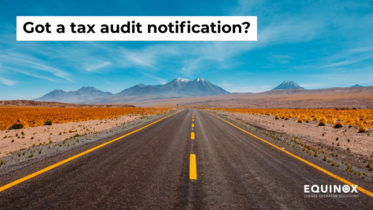 Got a Tax Audit Notification?